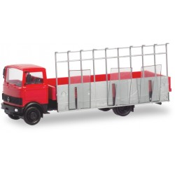 Camion Mercedes-Benz LP 813 transport de verre HO Herpa 094856 - Maketis
