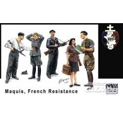 Maquis résistance français 1/35 Master Box Ltd MB3551 - Maketis