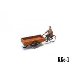 Cargo bike ready to run HO/OO for Magnorail System KKe-1