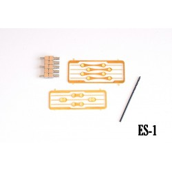 Vehicle sliders for Magnorail System (8 pcs) ES-1