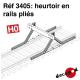 Heurtoir en rails pliés [HO] Decapod 3405