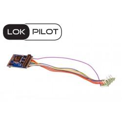 Décodeur LokPilot V5.0 DCC 8 broches NEM652 ESU 59620 - Maketis