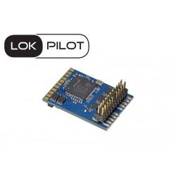 Décodeur LokPilot V5.0 DCC avec interface Plux22 ESU 59622 - Maketis