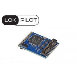 Décodeur LokPilot V5.0 DCC avec interface 21 MTC ESU 59629 - Maketis