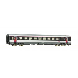 Voiture 1ère classe VTU Corail SNCF Ep VI HO Roco 74542 - Maketis