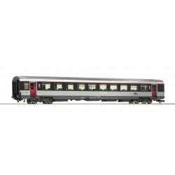 Voiture 2ème classe VTU Corail SNCF Ep VI HO Roco 74543 - Maketis