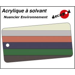 Decapod Acrylic Solvent Paint - Environment Decapod 8200 - Maketis