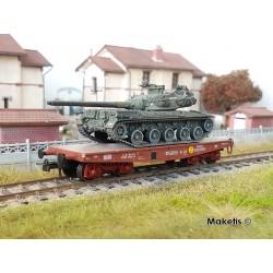 "Porte-char Rlmmp SNCF Ep.IV + Char AMX 30B ""LORRAINE"" HO REE WBA-026 - Maketis"