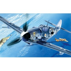 Avion BF109 G 6 1/72 Italeri 063 - Maketis
