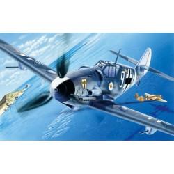 Avion BF109 G 6 1/72 Italeri 063 - Maketis