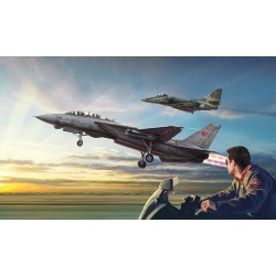 Avion Top Gun F-14A VS A-4M 1/72 Italeri 1422 - Maketis