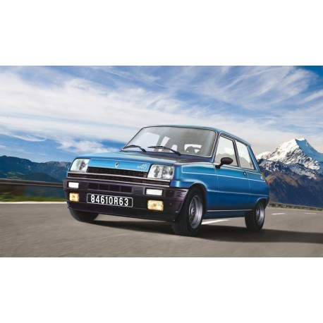 Italeri Renault 5 Alpine 3651 1:24