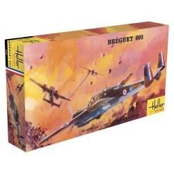 """Avion BREGUET 693/2 """"Heller Museum"""" 1/72 Heller 80392 - Maketis"""