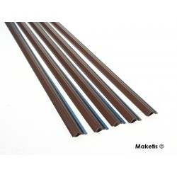 Sheet pile profile N (1:60) 5 pcs 33 cm Maquett 470-51/3