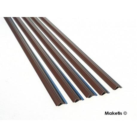 Sheet pile profile N (1:60) 5 pcs 33 cm Maquett 470-51/3 - Maketis