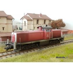 Locomotive diesel BR290 DB AG EP V Digital son HO Trix 22902 - Maketis