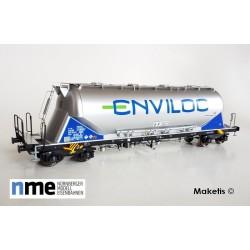 "Silowagon Uacns ""ENVILOC"" silver Ep VI H0 NME 503841 - Maketis"