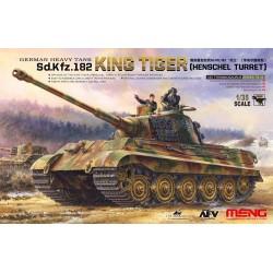 Char allemand Sd.Kfz.182 Tigre II (Henschel) 1/35 Meng-Model TS-031 - Maketis