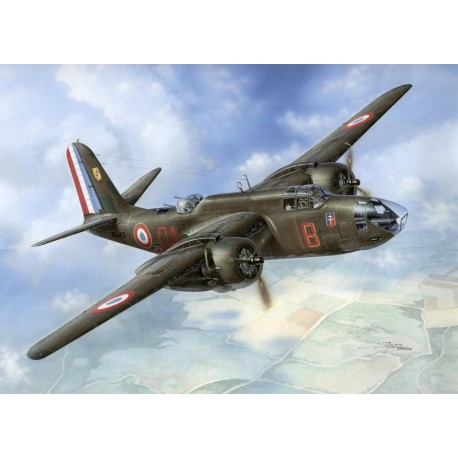 "Avion Boston Mk.IV/V ""The Last Version in RAF and Free French Service"" 1/72 Special Hobby 100-SH72413 - Maketis"
