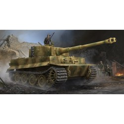 Char allemand Pz.VI Sd.Kfz.181 Tigre I (Last Production) 1/35 Trumpeter 09540