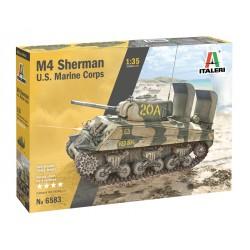 Char M4A2 Sherman US Marine Corps 1/35 Italeri 6583