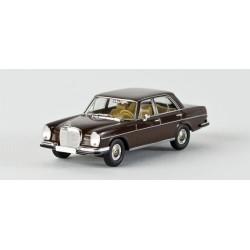 Mercedes Benz 280 SE brun foncé HO Brekina-Starmada 13101 - Maketis