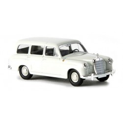 Mercedes Benz 180 break gris perle HO Brekina-Starmada 13450 - Maketis
