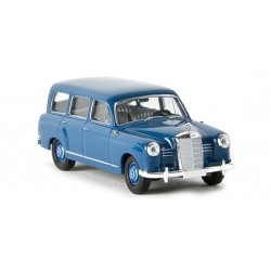 Mercedes Benz 180 break bleu azur HO Brekina-Starmada 13451 - Maketis