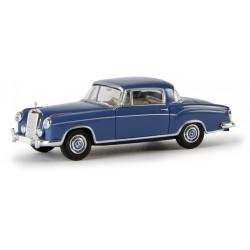 Mercedes Benz 220 S coupé bleu foncé HO Brekina-Starmada 13503