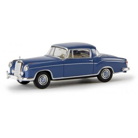 Mercedes Benz 220 S coupé bleu foncé HO Brekina-Starmada 13503 - Maketis