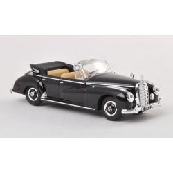 Mercedes Benz 300 C (W186) cabriolet noir HO Brekina-Ricko 38427 - Maketis