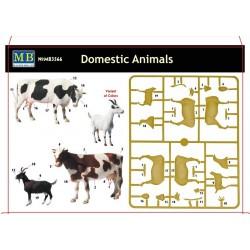 Animaux domestiques 1/35 Master Box 3566 - Maketis