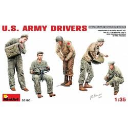 Conducteurs armée américaine WWII 1/35 Miniart 35180 - Maketis