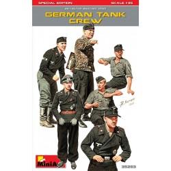 Equipage de char Allemand WWII édition spéciale 1/35 Miniart 35283 - Maketis