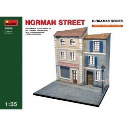 Base pour diorama, rue Normande WWII 1/35 Miniart 36045 - Maketis