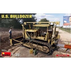 Bulldozer US et jeux de jerrycans 1/35 Miniart 38022 - Maketis