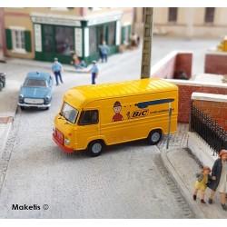 Camionnette Saviem SG2 BIC HO Brekina 14637 - Maketis