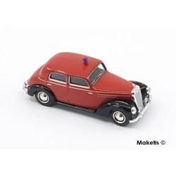 Mercedes Benz 220 Taxi rouge/noir HO Brekina-Starmada 13056