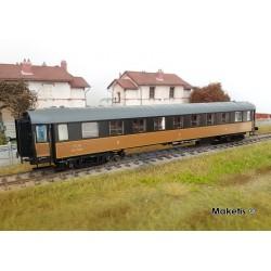 Voiture B9yfi Jaune Noir filets jaunes PLM Ep IIb HO LS Models 40927 - Maketis