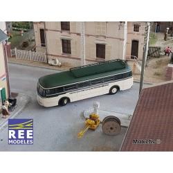 Autocar R4190 Vert et Crème - Transport B Gonthier - Périgueux (24) HO REE CB-120 - Maketis