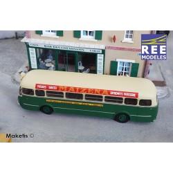 """Bus R4190 Vert et Crème RATP Ligne 258 Publicité """"Maïzéna"""" (75) HO REE CB-128 - Maketis"""