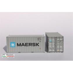 Container 20´DV MAERSK (MRKU8585826) HO PT TRAINS 820003.1 - Maketis