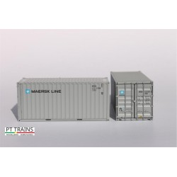 Container 20´DV MAERSK LINE (MSKU5135283) HO PT TRAINS 820003.2 - Maketis
