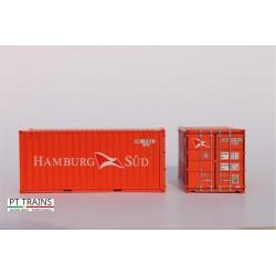 Container 20´DV HAMBURG SÜD HO PT TRAINS 820007.2 - Maketis