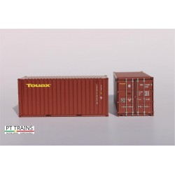 Container 20´DV TOUAX (TGCU2152573) HO PT TRAINS 820021 - Maketis