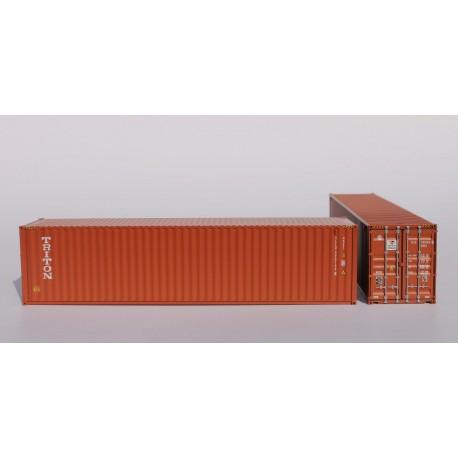 Container 40´HC TRITON (TLLU5901348) HO PT TRAINS 840019 - Maketis