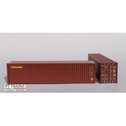 Container 40´HC TOUAX (TGCU5104537) HO PT TRAINS 840021 - Maketis