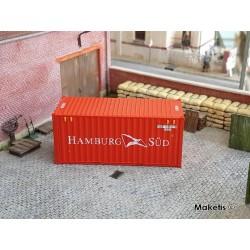 Container 20´DV HAMBURG SÜD HO PT TRAINS 820007.1 - Maketis