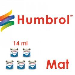 Humbrol Enamel paints Matt 14 ml - Maketis