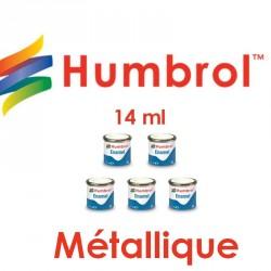 Humbrol Enamel metallisch Farben 14 ml - Maketis